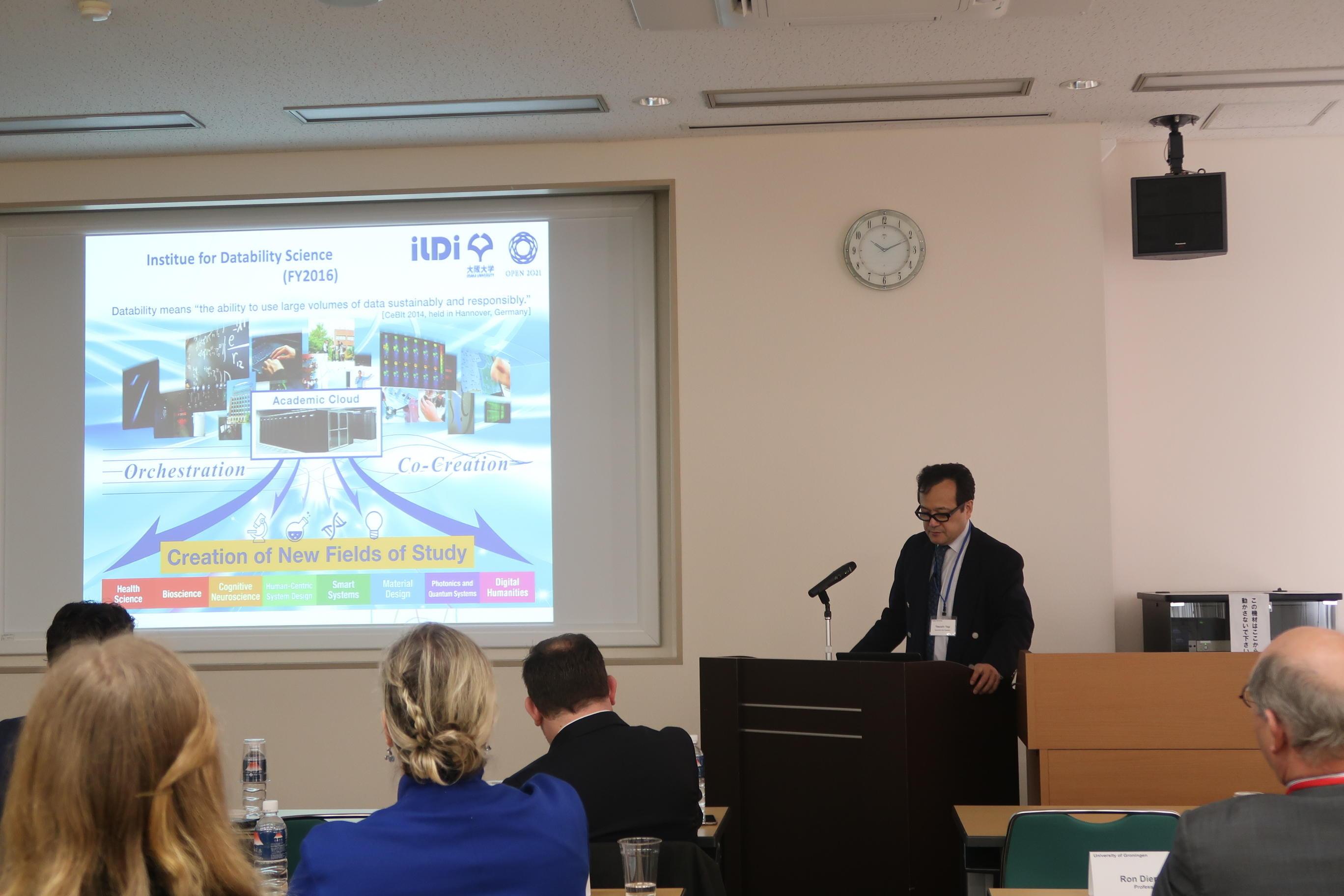 グローニンゲン大学とのワークショップ(2019年3月)